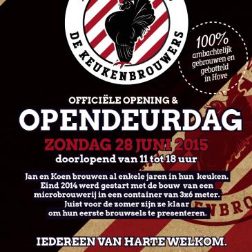 Opendeurdag en officiële opening – zondag 28 juni 2015