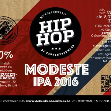Hip Hop Modeste IPA 2016