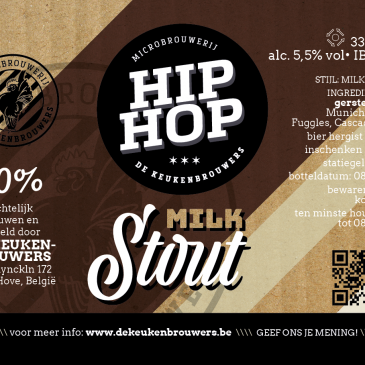 Hip Hop Milk Stout