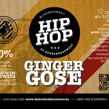 Hip Hop Ginger Gose