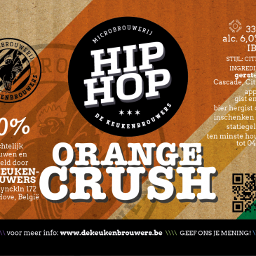 Hip Hop Orange Crush