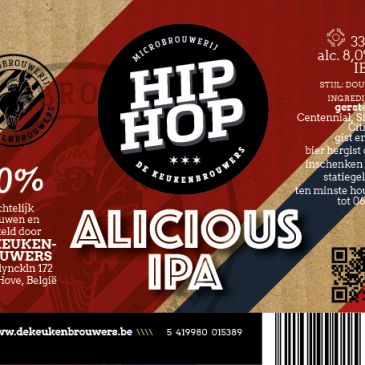 Hip Hop Alicious IPA