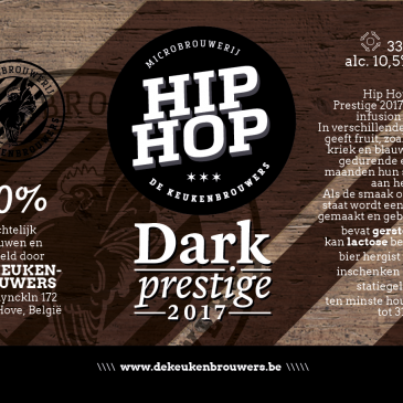 Hip Hop Dark Prestige 2017 Red Fruit